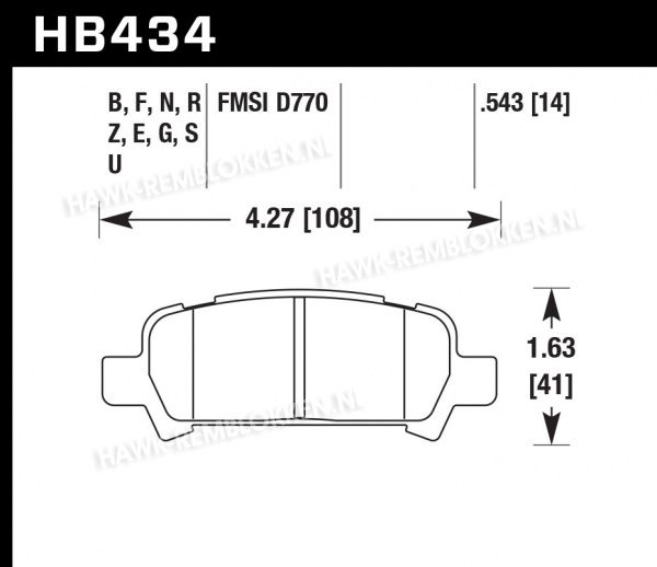 HB434Z.543 - Performance Ceramic