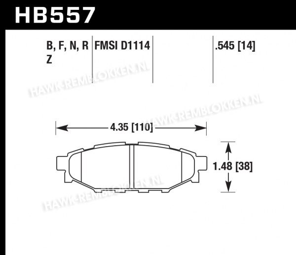 HB557Z.545 - Performance Ceramic