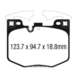 Hawk Brake Pad - HP Plus