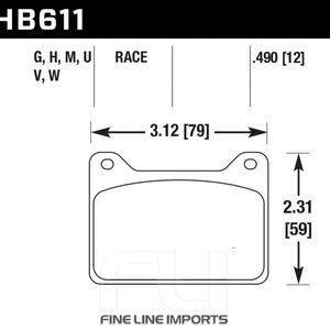 Hawk Brake Pad - HPS 5.0