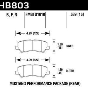 Hawk Brake Pad - Performance Ceramic