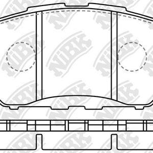 Hawk Brake Pad - Super Duty