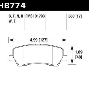 HB774Z.650 - Performance Ceramic